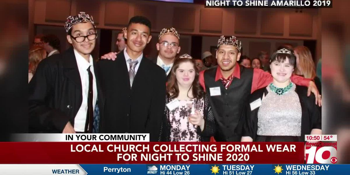 Local church collecting formal wear for Night to Shine 2020