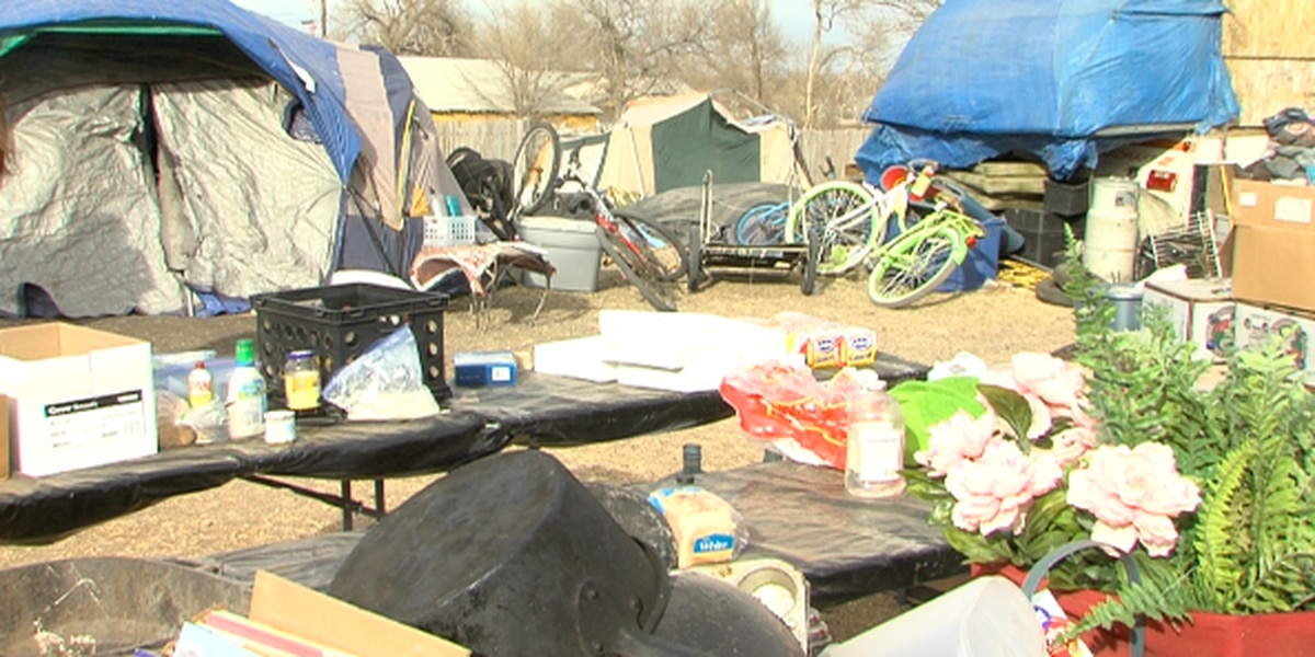 Tent city campers on the verge of losing their home