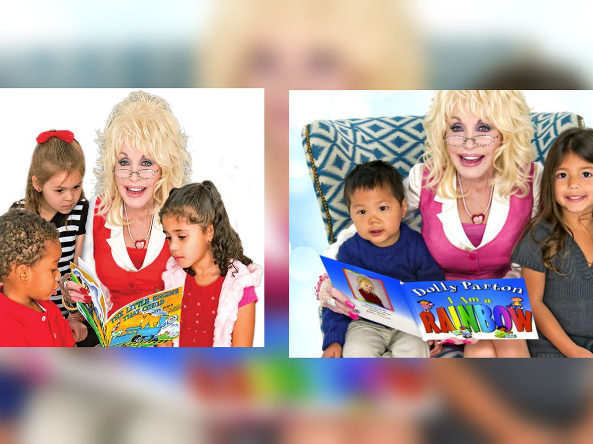 Storybridge partners with Dolly Parton's Imagination Library to send free books to Amarillo kids