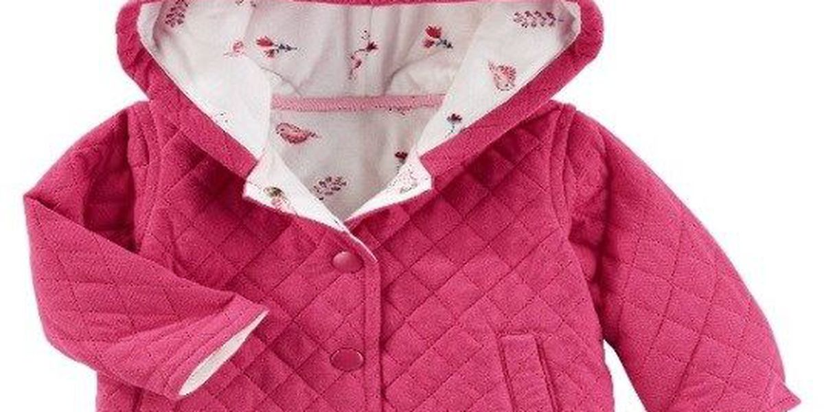 1f3f6d28baaf RECALL ALERT  OshKosh recalls Baby B gosh Quilted Jacket due to ...