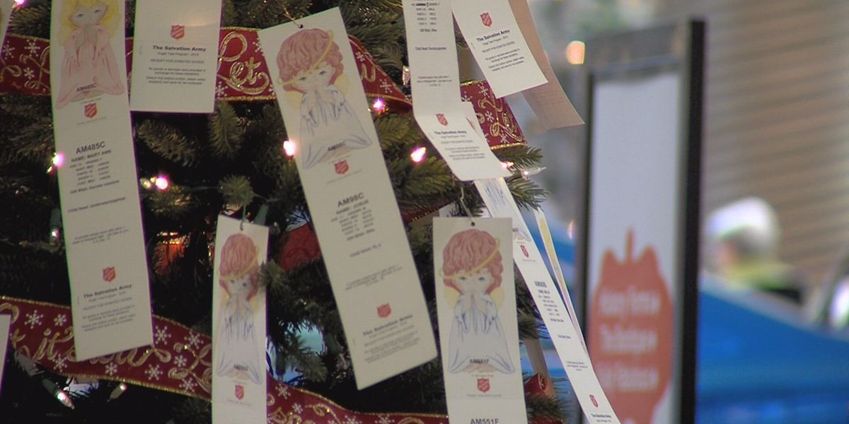 It's crunch time for the Salvation Army Angel Tree