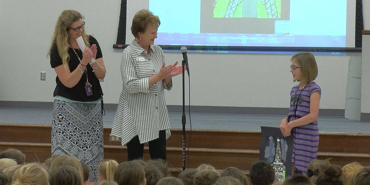 Rolling Hills Elementary to provide art program for students after student's first-place prize