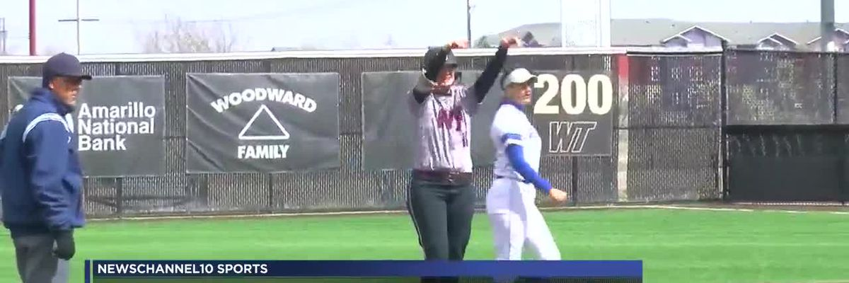 Lady Buffs struggle against Kingsville, drop both games of the double header