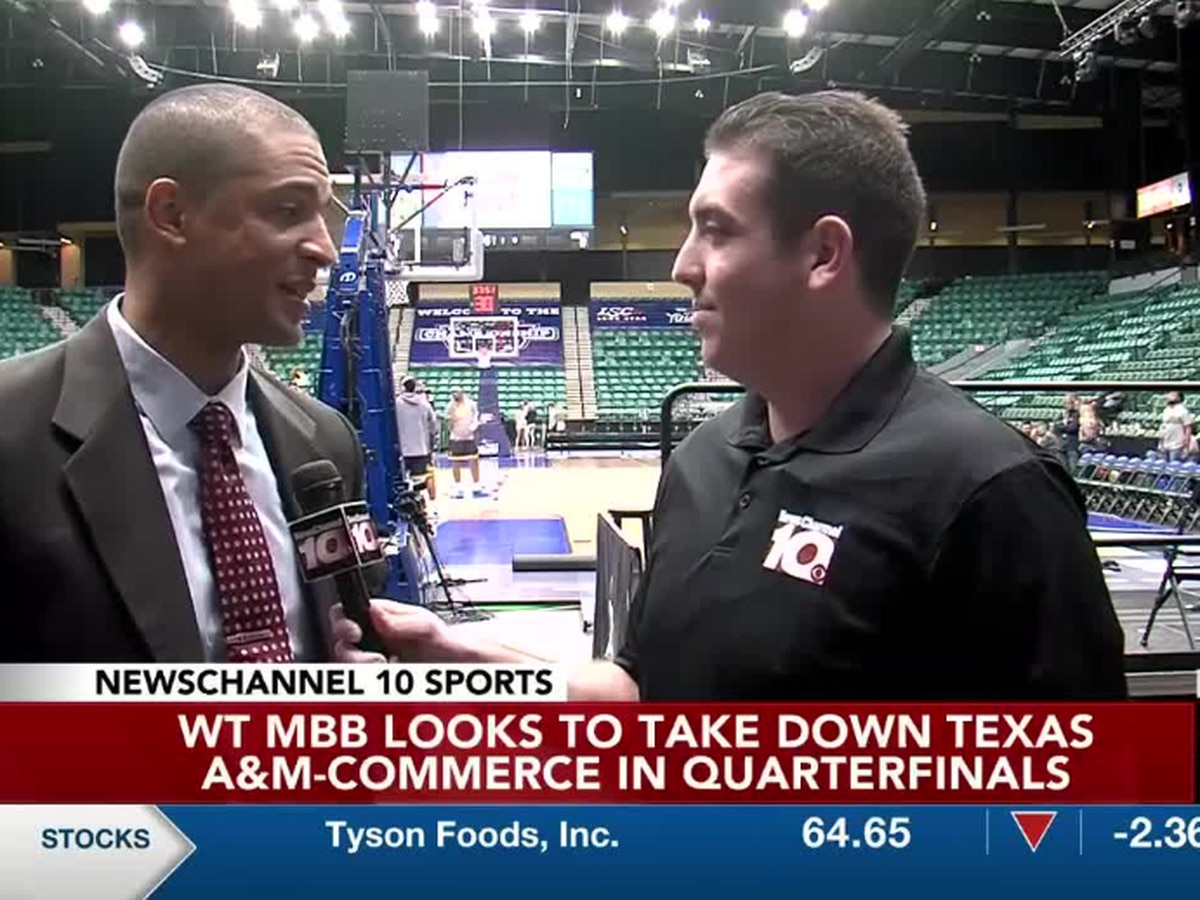 WT Men's Basketball cruises to Quarterfinals win over Texas A&M-Commerce