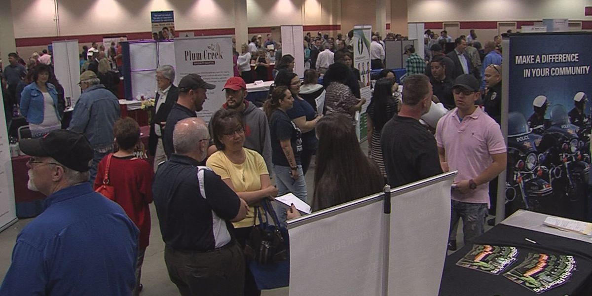 Online applications affecting local job fairs
