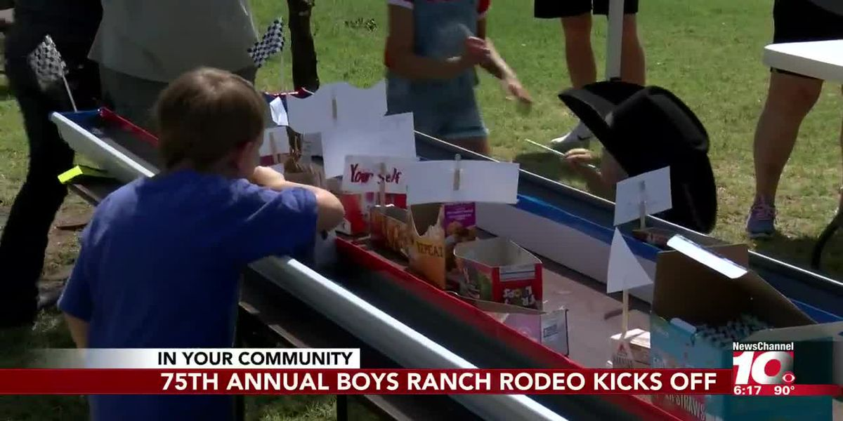 Boys Ranch block party kicks off 75th annual rodeo