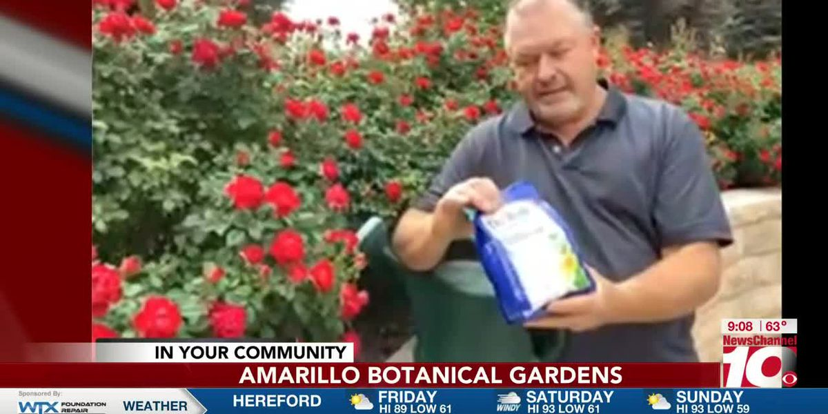 INTERVIEW: Greg Lusk with Amarillo Botanical Gardens gives some tips on using fertilizer