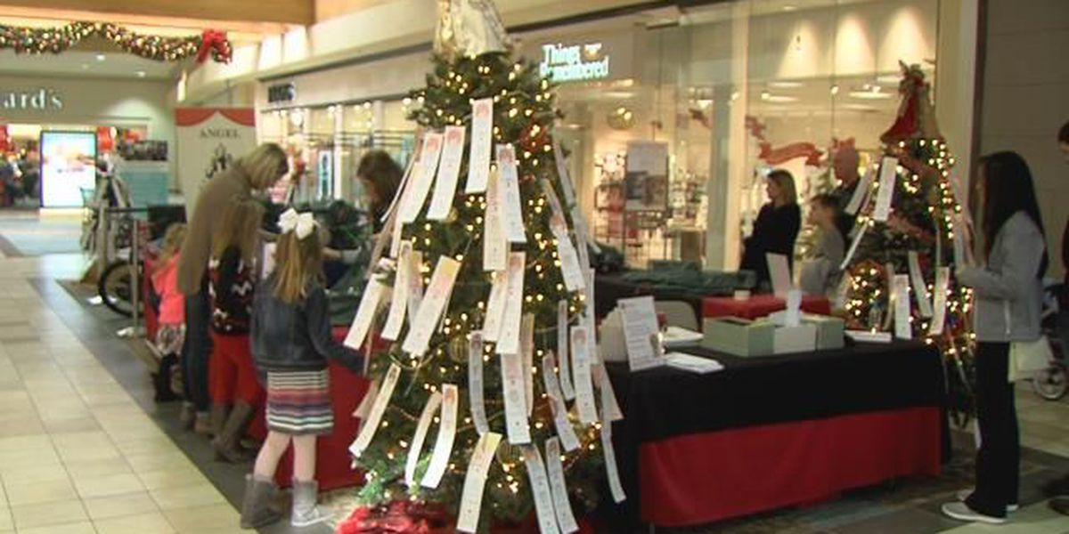 Salvation Army's Angel Tree along with local volunteers gives a gift that keeps on giving