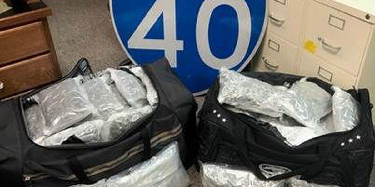 Texas DPS seizes marijuana, arrests driver in Oldham County