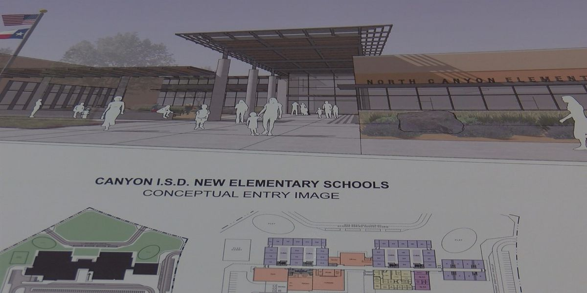 Canyon ISD in the design process for new high school, 2 elementary schools