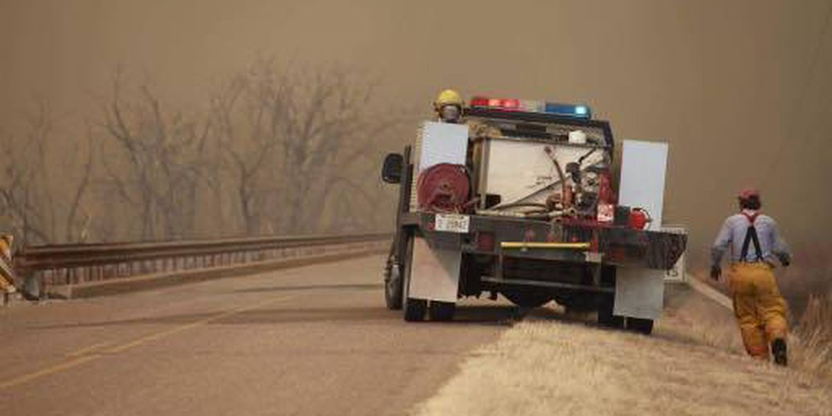 Wind conditions should ease, helping crews battle wildfires