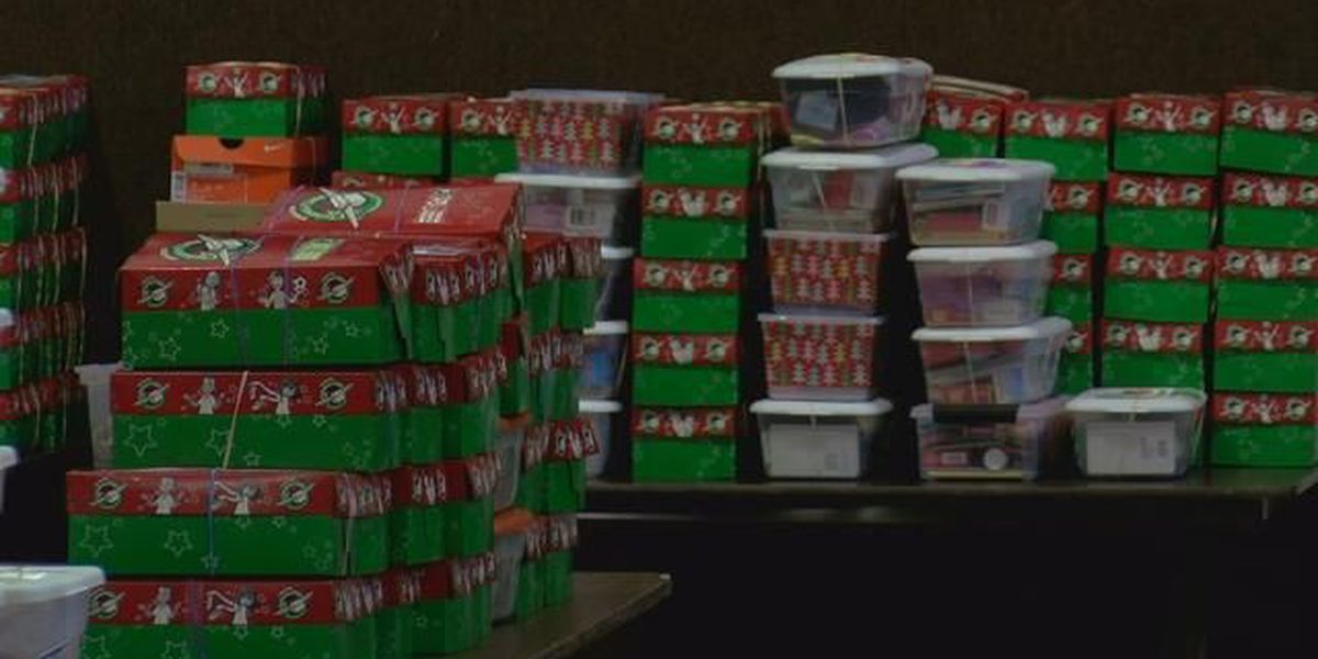 National collection week for Operation Christmas Child