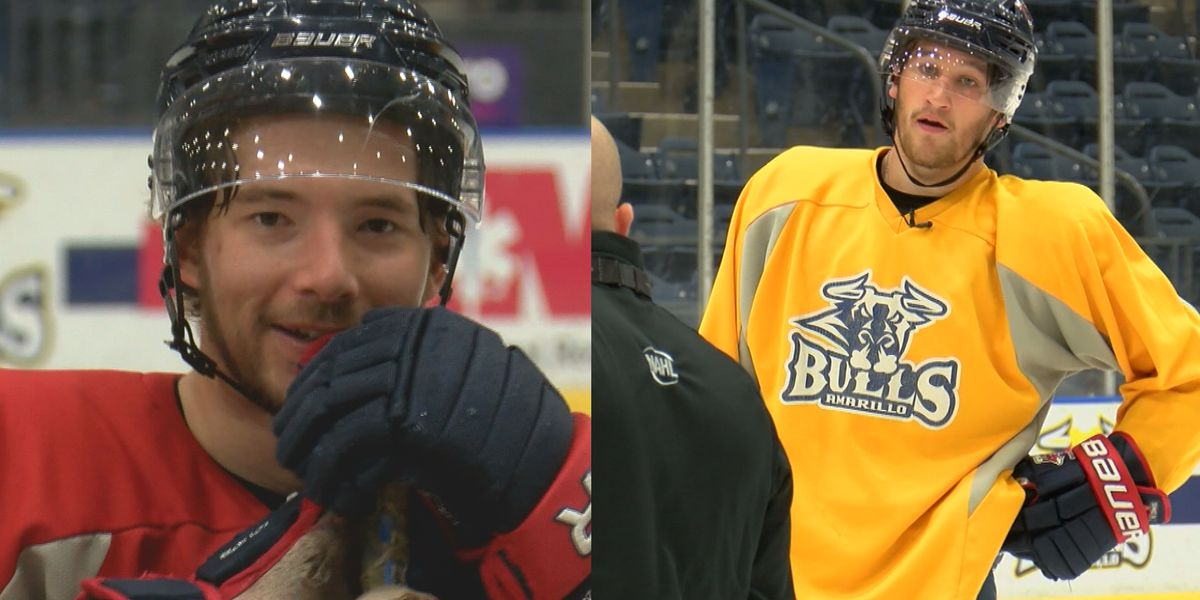 Bulls players from abroad reunite on ice
