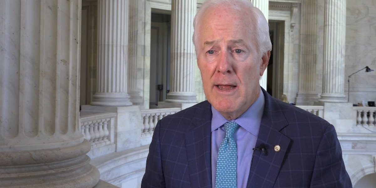 Senator Cornyn discusses Amarillo economy, racial injustice