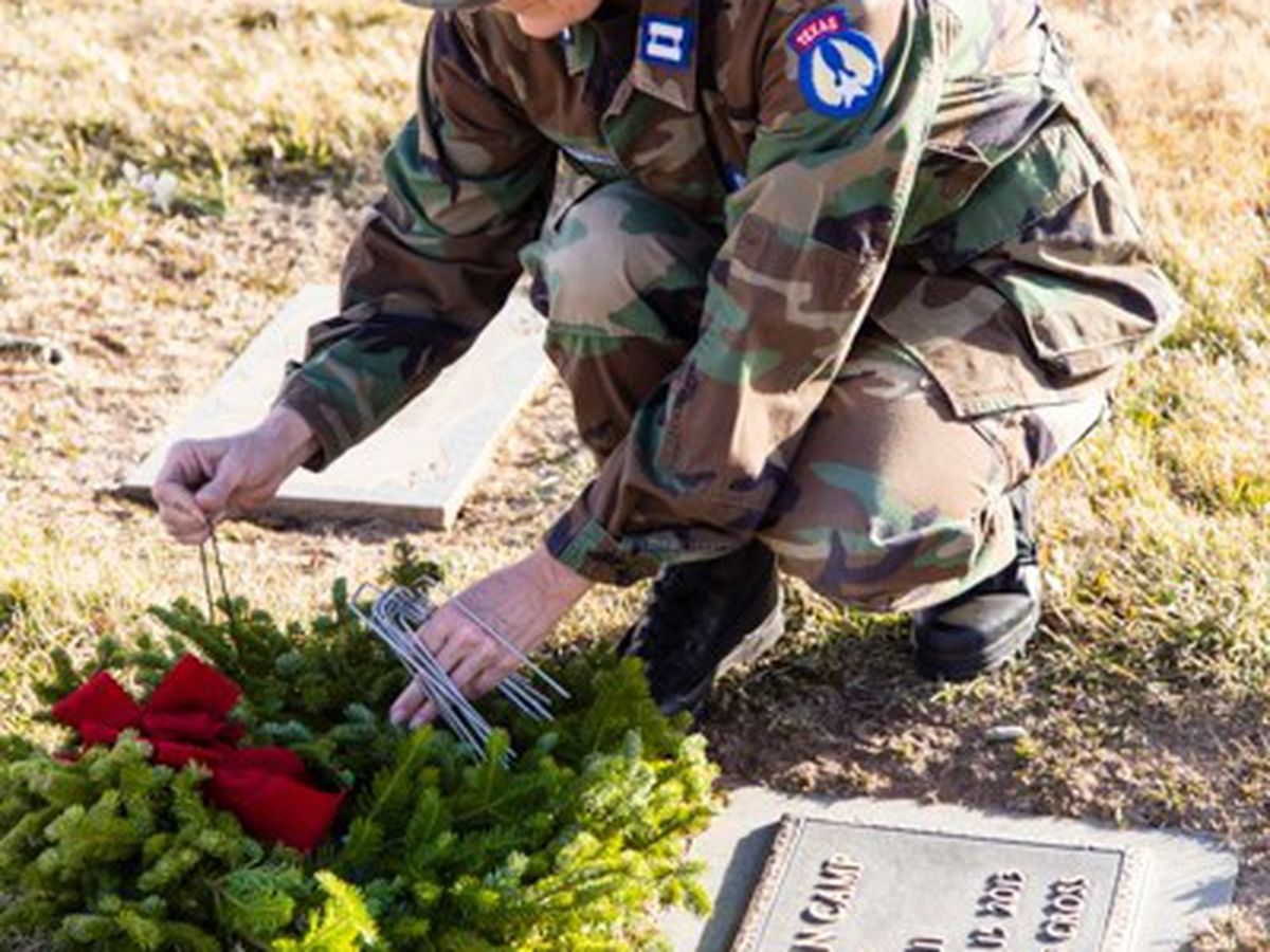 Llano Cemetary hosting wreath laying event to honor fallen veterans