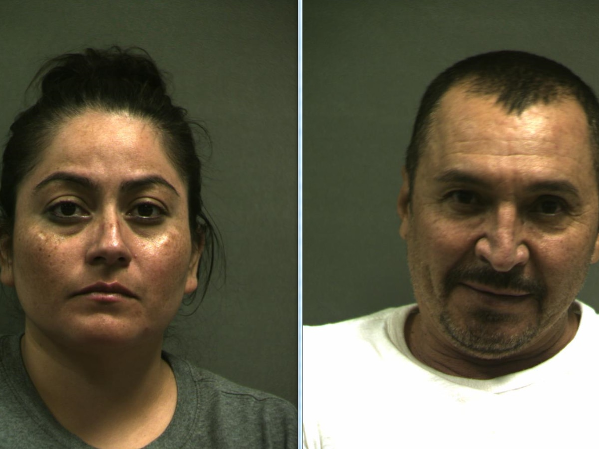2 people arrested Friday in Oldham County for transporting more than $400,000 worth of meth