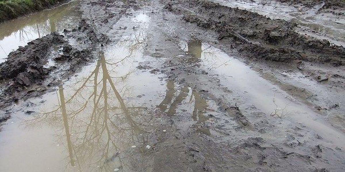 More rain, more problems.