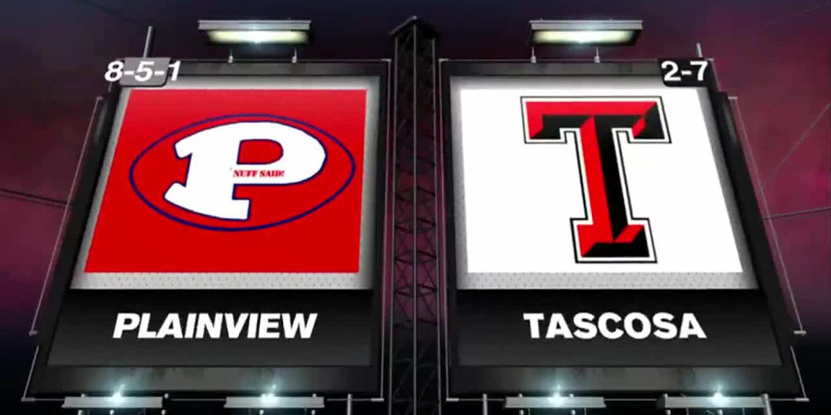 Tascosa Rebels top the Plainview Bulldogs at home stand