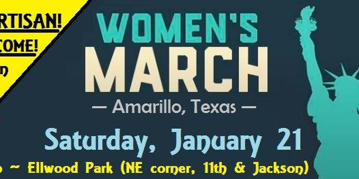 Women's march to be held in Amarillo this weekend