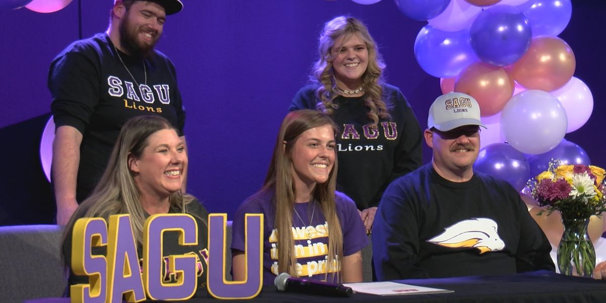 Randall's Brooklyn Taylor signs with SAGU Track and Field