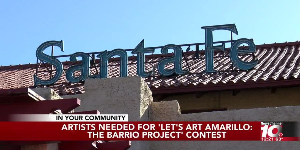 VIDEO: Artists needed for the 'Let's Art Amarillo: The Barrio Project' contest