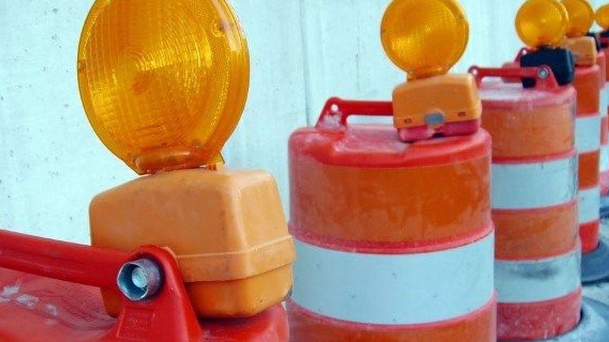 Amarillo area lane closures