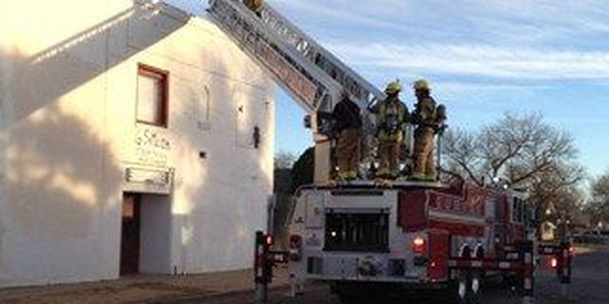 Fire at Sixth Street Massacre Haunted House