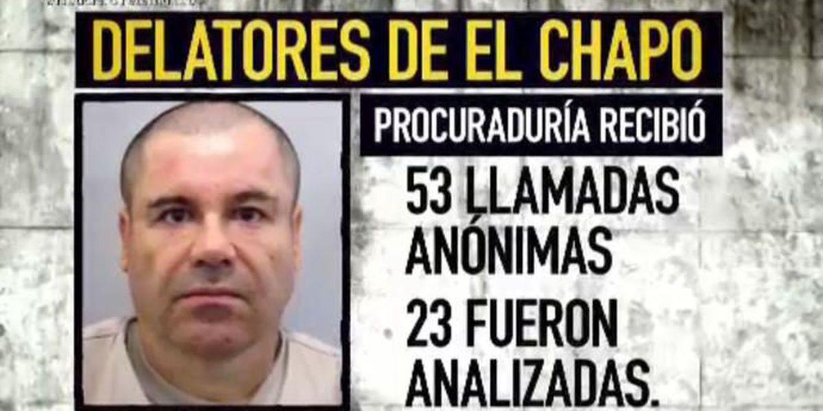 """Buscan cobrar millonaria recompensa por """"El Chapo"""""""
