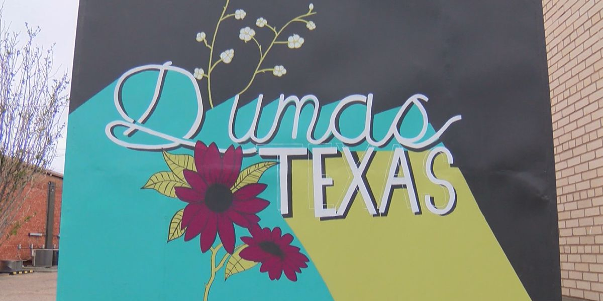 Revitalization in downtown Dumas helps bring foot traffic to small businesses