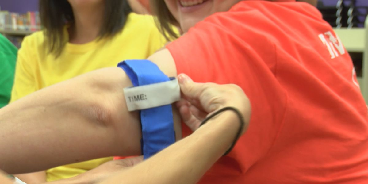 Area school districts learn how to 'Stop the Bleed' ahead of new school year