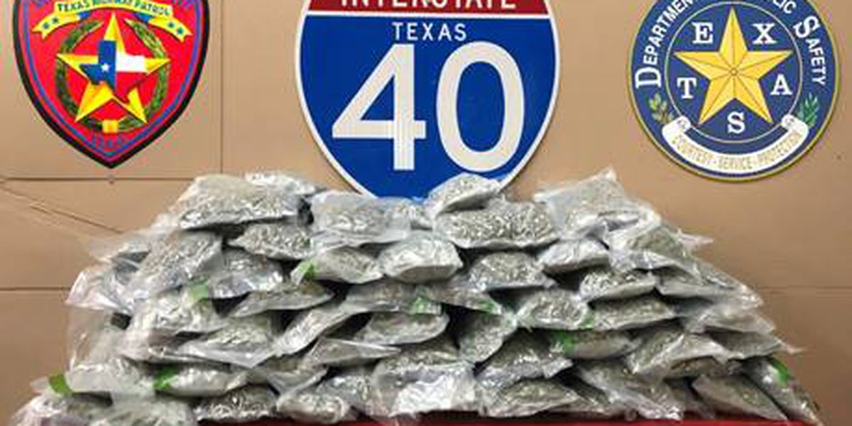 DPS recovers over 100 pounds of marijuana in Carson County bust