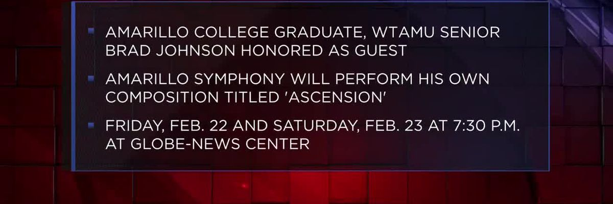Composition of Amarillo College grad, current WTAMU student to be played at Amarillo Symphony