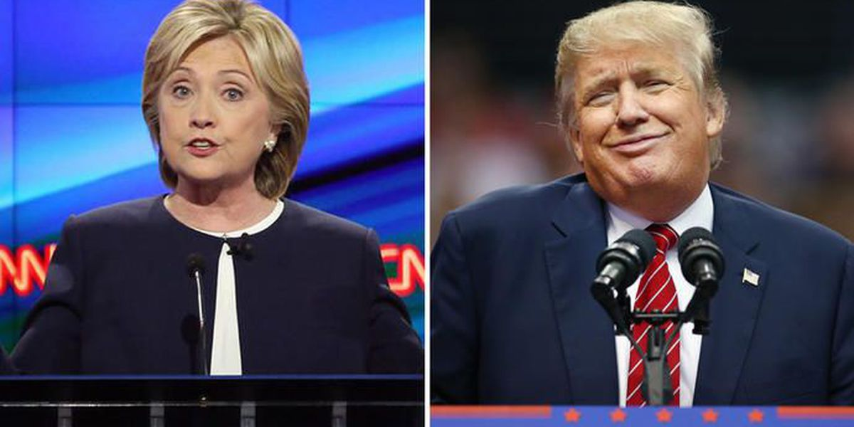 Encuesta arroja triunfo de Clinton sobre Trump