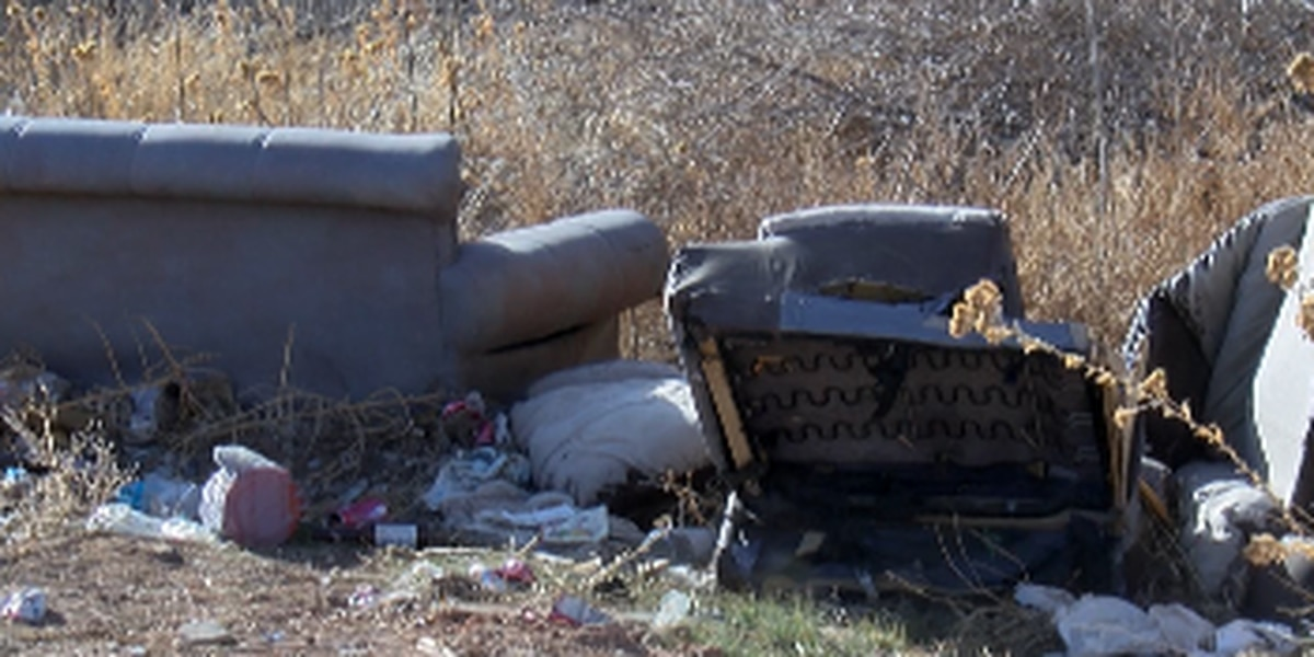 Illegal dumping in Amarillo continues to leave community members frustrated