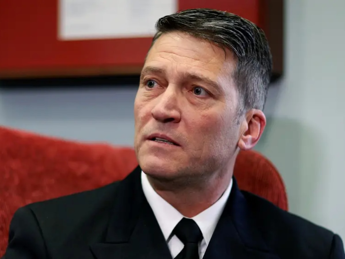 Rep. Ronny Jackson responds to sexual allegations