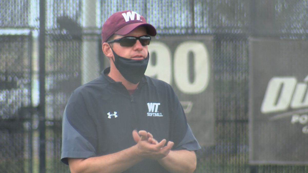 West Texas A&M's Michael Mook earns 200th career win