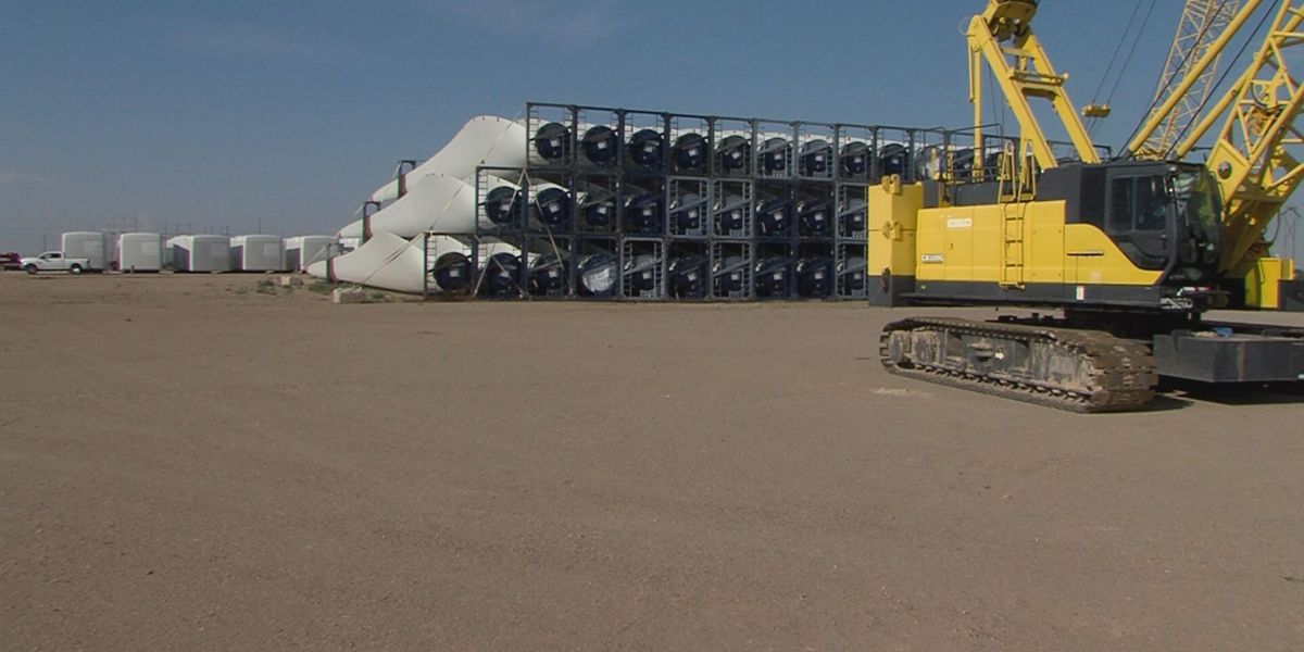 Behind the scenes of a turbine distribution center