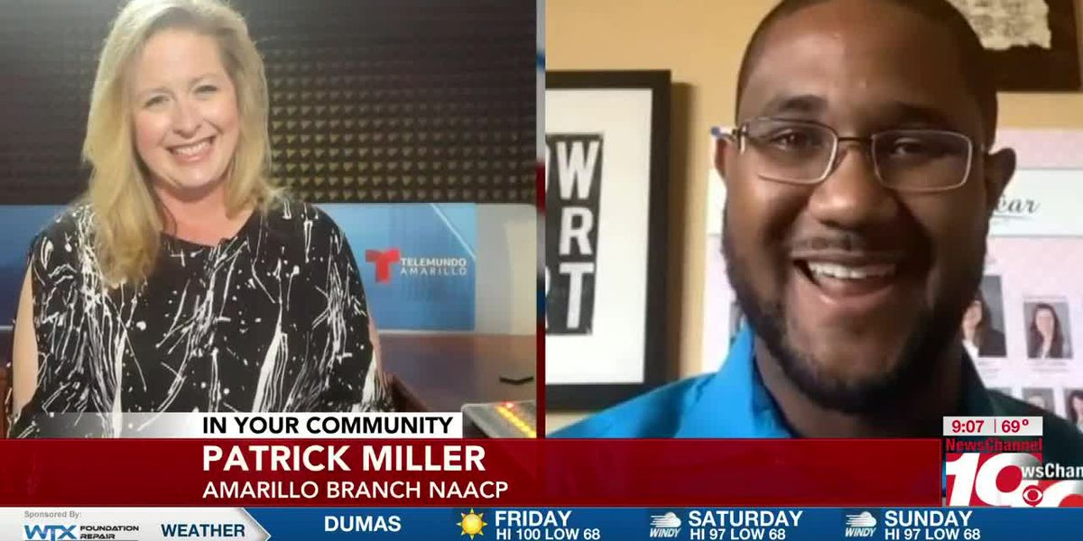 INTERVIEW: Patrick Miller gives the rundown on the Amarillo Branch NAACP's community rally for this Saturday