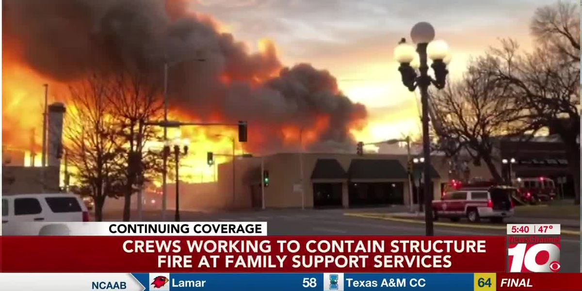 AFD investigating cause of fire at Family Support Services in downtown Amarillo