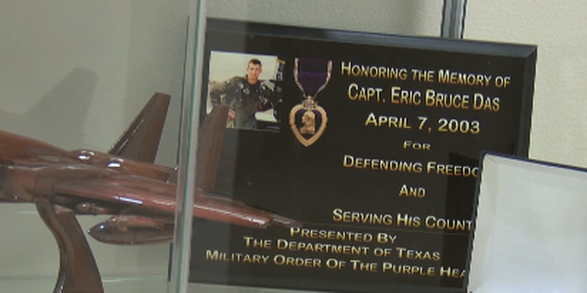 Texas Panhandle War Memorial honors fallen Air Force captain with Purple Heart and opens new museum