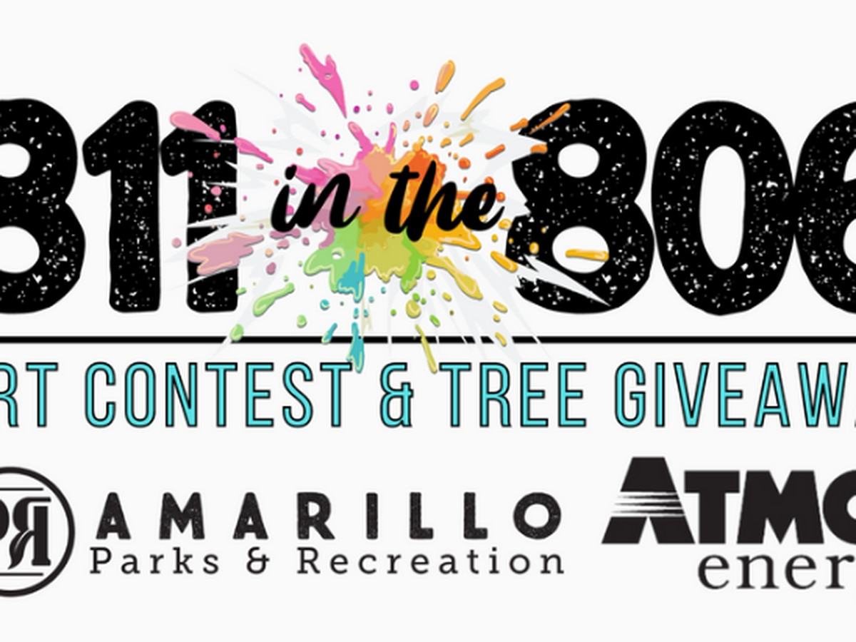 COA Park and Recreation and Atmos Energy hosting '811 in the 806′ Art Contest and win a tree