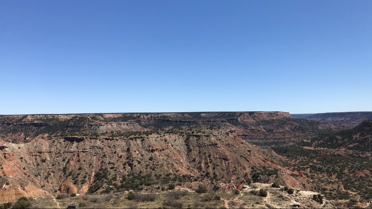 Escaping Coronavirus in the canyon