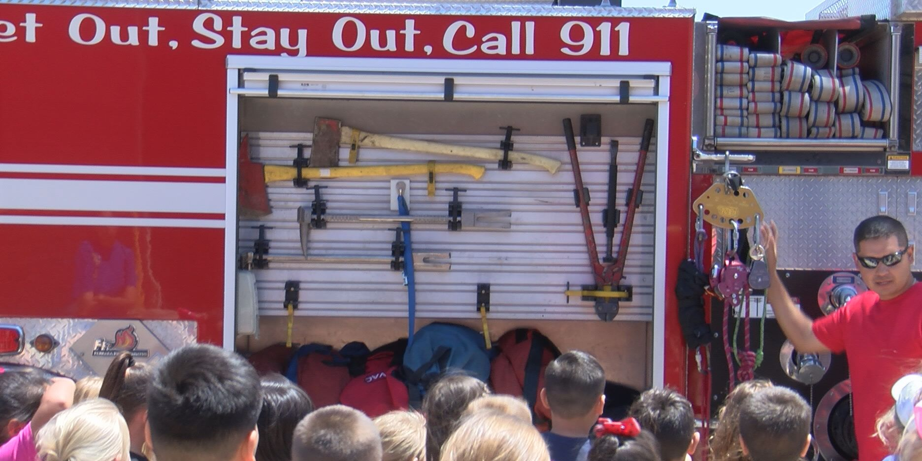 Amarillo Fire Department hosts first Safety Town event for 4,000 students