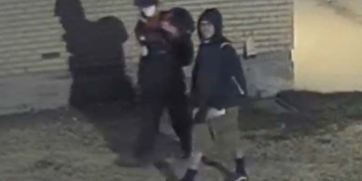 APD's 'Crime of the Week' seeking Caprock High School burglary suspects