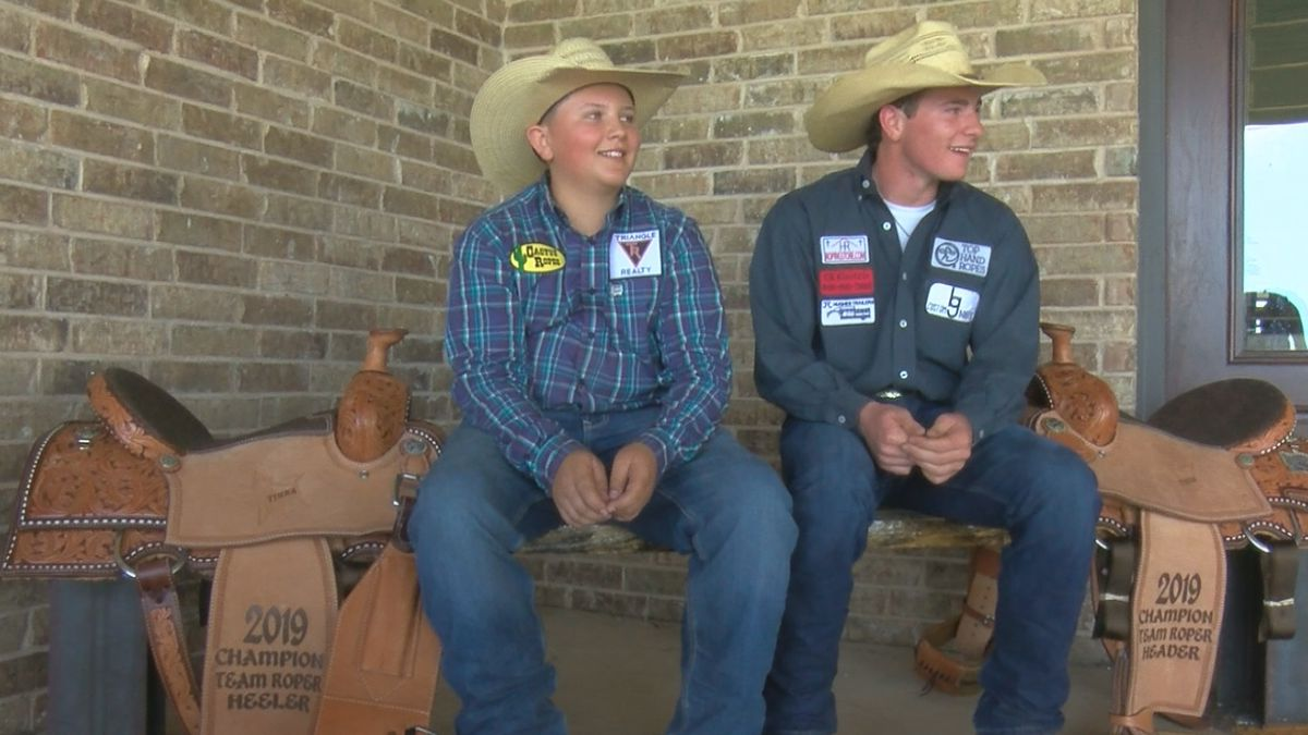 Canyon teens headed to Team Roping Jr. Finals in South Dakota