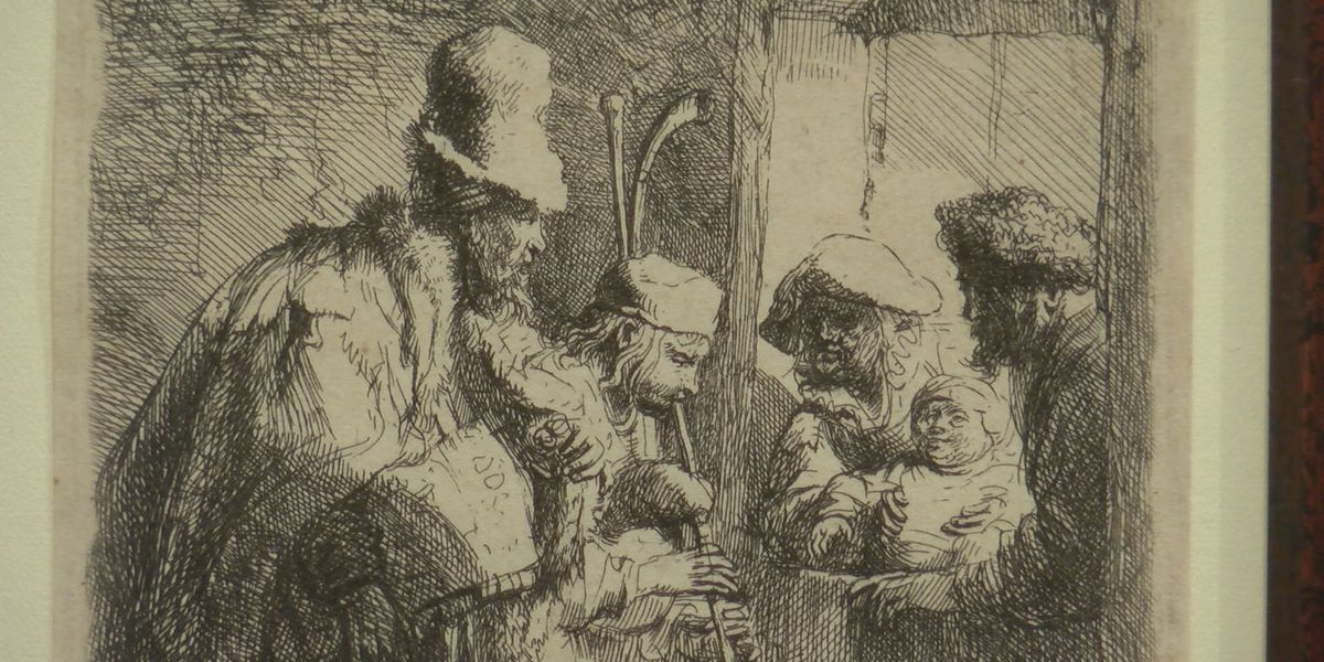 'Sordid & Sacred' etchings by Rembrandt displayed at Canadian art museum