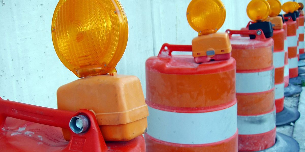 Amarillo lane closure report