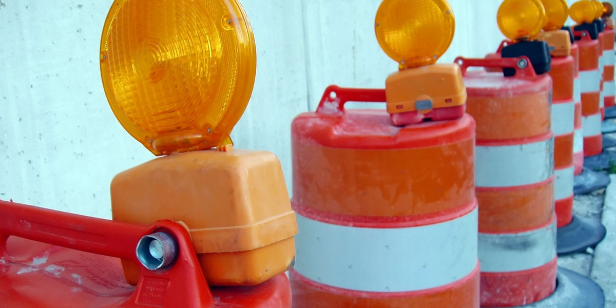 Drivers can expect lane closures at I-40 and Soncy due to bridge deck sealing