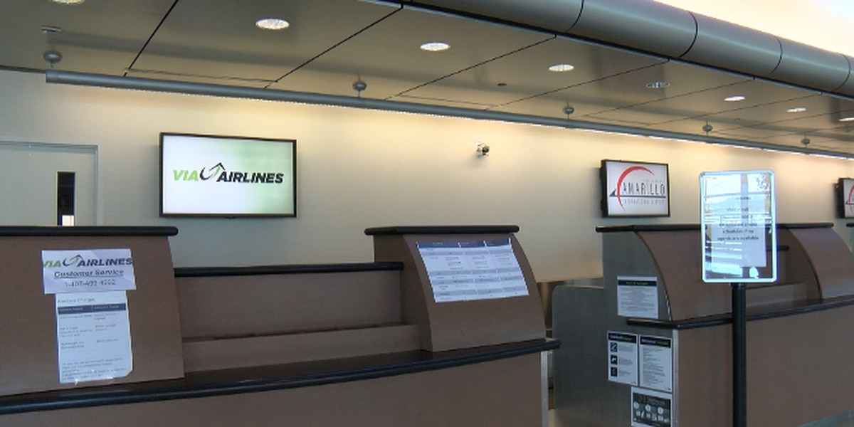 Via Airlines temporarily suspending flights to and from Amarillo