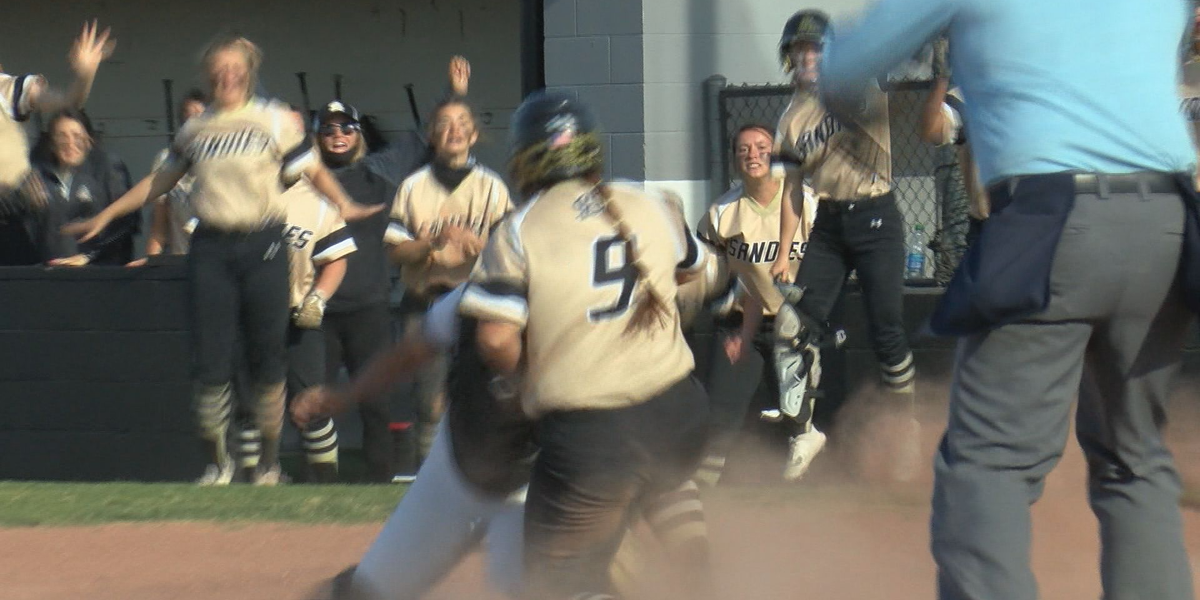 VIDEO: Lady Sandies claim District 3-5A lead, defeating Randall 8-5